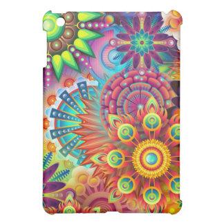 Coques iPad Mini Fleurs colorées