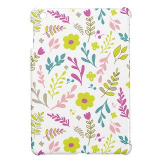 Coques iPad Mini Fleurs de Colorfull sur le blanc
