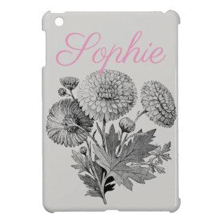 Coques iPad Mini Fleurs vintages/victoriennes Personnalised