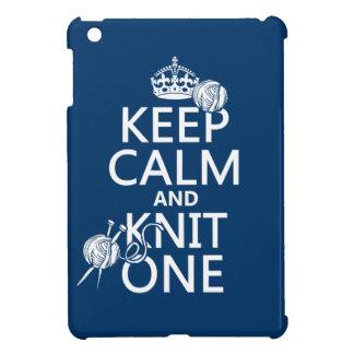 Coques iPad Mini Gardez le calme et tricotez un - toutes les