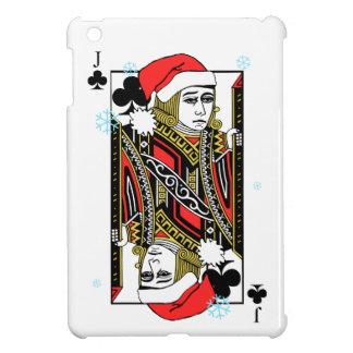 Coques iPad Mini Joyeux Noël valet de trèfle
