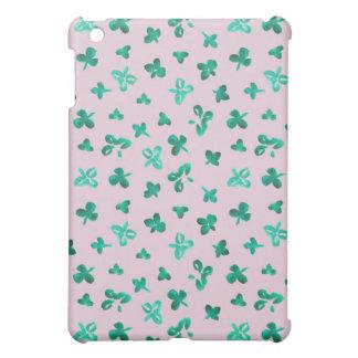 Coques iPad Mini Le trèfle laisse à l'iPad mat le mini cas