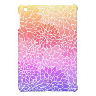 Coques iPad Mini Mini cas de conception florale d'iPad dur Girly de