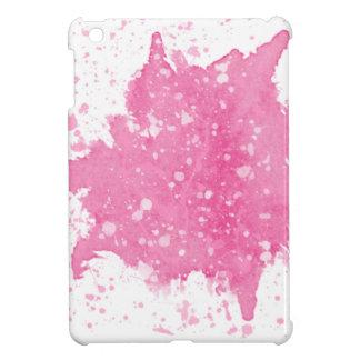 Coques iPad Mini Modèle rose fait sur commande d'éclaboussure