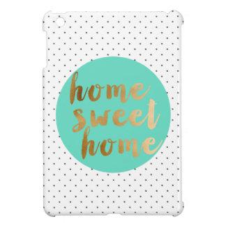 Coques iPad Mini motif de pois à la maison doux de maison de