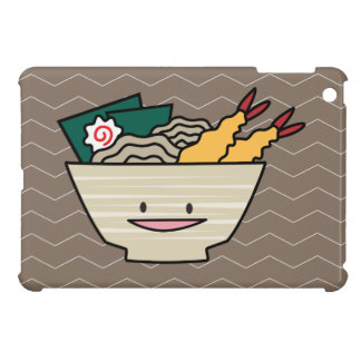 Coques iPad Mini Nouilles de Japonais de crevette de nori de bol de
