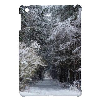 Coques iPad Mini paysage de neige