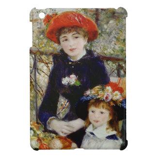 Coques iPad Mini Pierre un Renoir | deux soeurs, ou sur la terrasse