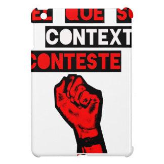 Coques iPad Mini Quelque soit le CONTEXTE CONTESTE ! - Jeux de Mots