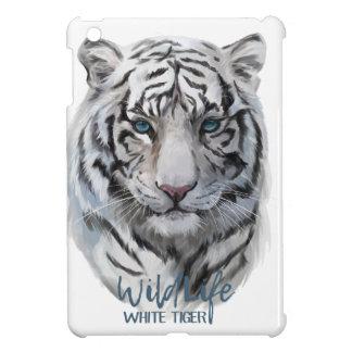 Coques iPad Mini Tigre blanc 2