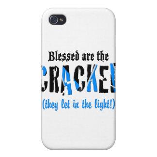 Coques iPhone 4/4S Blessed sont la CRIQUÉE