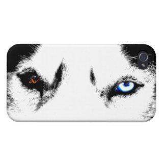 Coques iPhone 4/4S Cas enroués de chiot de Malamute de coques iphone