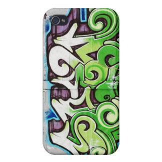 Coques iPhone 4/4S enveloppe du graffiti 4 de rue