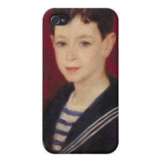 Coques iPhone 4/4S Pierre un portrait de Renoir | de Fernand Halphen