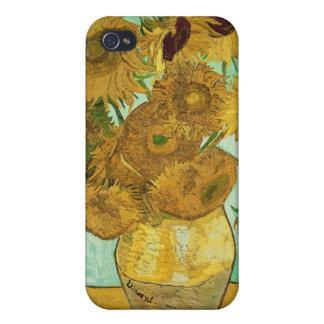Coques iPhone 4/4S Tournesols de Vincent van Gogh |, 1888