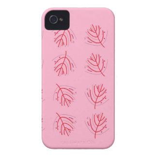 Coques iPhone 4 Algues ROUGE-ROSE. T-shirts et plus