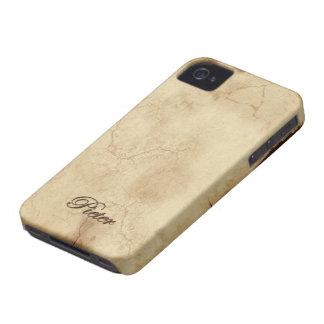 Coques iPhone 4 Cas customisé de téléphone marqué par nom de