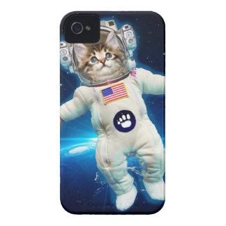 Coques iPhone 4 Case-Mate Astronaute de chat - chat de l'espace - amoureux