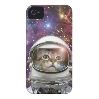 Coques iPhone 4 Case-Mate Astronaute de chat - chat fou - chat