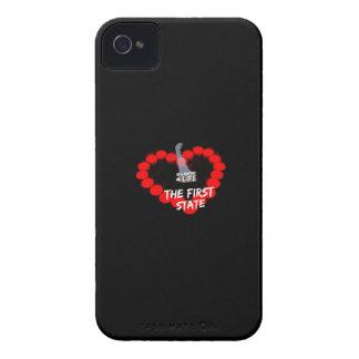 Coques iPhone 4 Case-Mate Conception de coeur de bougie pour l'état du