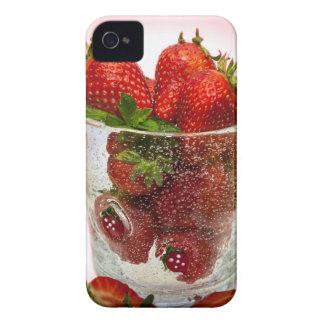 Coques iPhone 4 Case-Mate Dessert de fraise