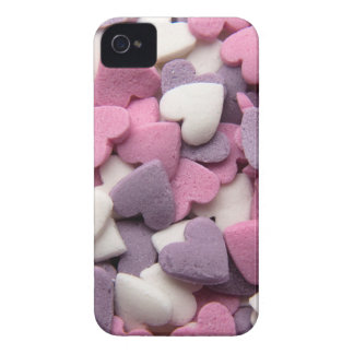 Coques iPhone 4 Case-Mate Hearts Colorful Cake Sprinkles