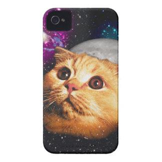 Coques iPhone 4 Case-Mate lune de chat, chat et lune, catmoon, chat de lune