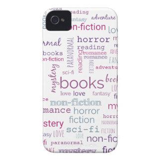 Coques iPhone 4 Case-Mate Mots pour des livres