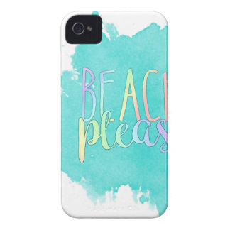 Coques iPhone 4 Case-Mate Plage svp