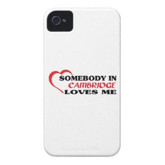 Coques iPhone 4 Case-Mate Quelqu'un à Cambridge m'aime