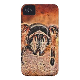 Coques iPhone 4 Case-Mate Tarentule déplaisante gothique d'araignée de