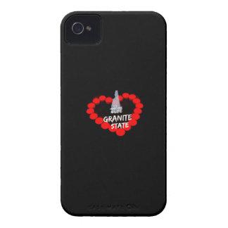 Coques iPhone 4 Conception de coeur de bougie pour l'état du New