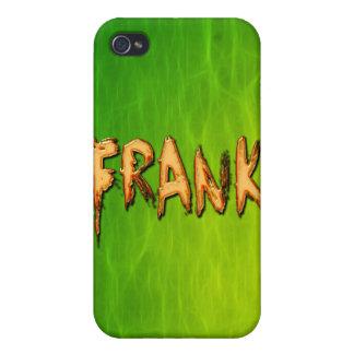 Coques iPhone 4 Couverture d'iPhone marquée par nom de Frank