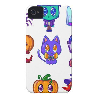 Coques iPhone 4 Cute little monsters