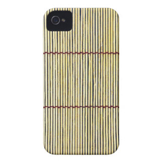 Coques iPhone 4 ennui naturel en bois de style de texture de Brown