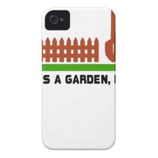 Coques iPhone 4 Fouille de la vie et de jardin il
