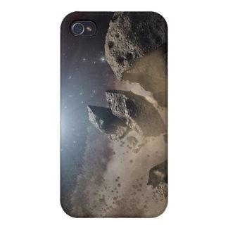 Coques iPhone 4 L'asteroïde mord la poussière PIA11735