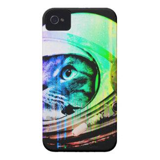 Coques iPhone 4 les chats colorés - astronaute de chat - espacent