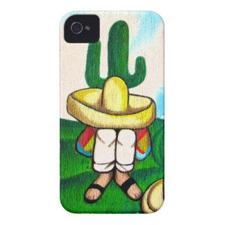 Coques iPhone 4 Mexicain Hombre prenant un cas de l'iPhone 4 de