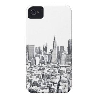 Coques iPhone 4 Photographie de San Francisco SF Citiscape