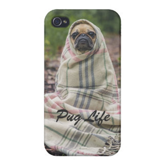 Coques iPhone 4 Pug Life