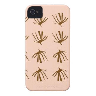 Coques iPhone 4 Rétro beige d'ALGUES