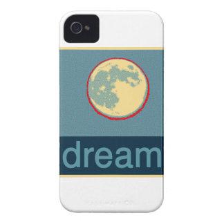 Coques iPhone 4 Rêve dessus avec la lune