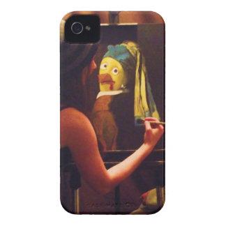 Coques iPhone 4 Rootbeer olive joint le peintre de poulet d'équipe