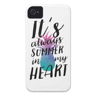 Coques iPhone 4 Summer Pineapple