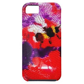 Coques iPhone 5 Art floral d'abeille