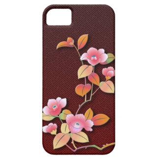 Coques iPhone 5 Belle branche de camélia