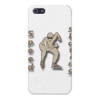 Coques iPhone 5 Brun de patinage de vitesse