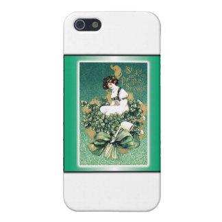 Coques iPhone 5 Carte postale victorienne vintage du souvenir de