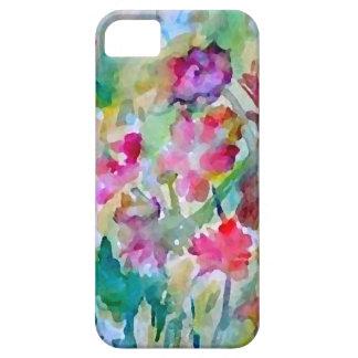 Coques iPhone 5 Case-Mate Abrégé sur aquarelle de jardin d'agrément de
